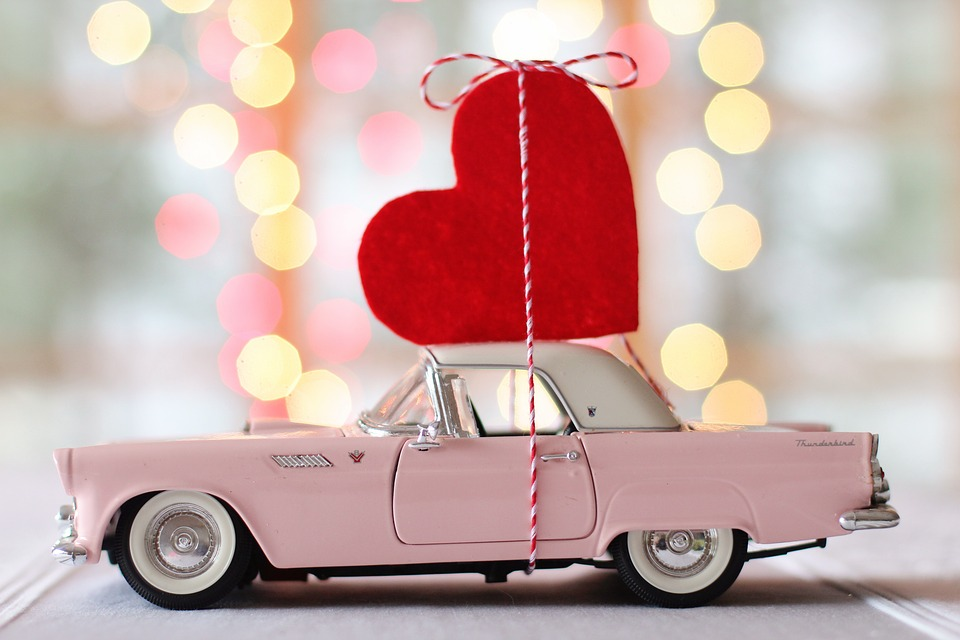 Car Ready for Valentines Day