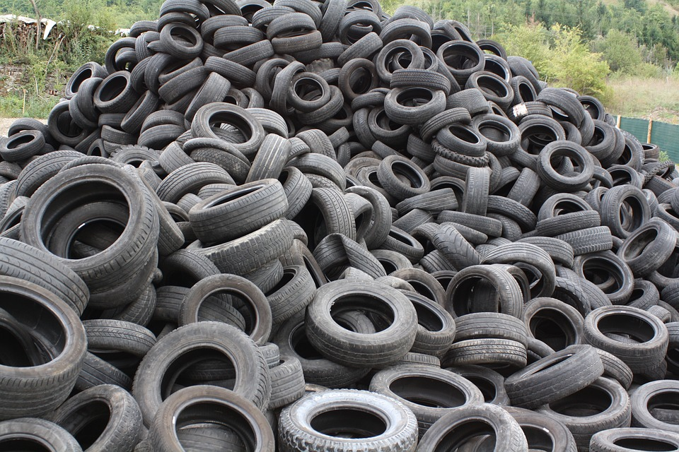 World Environment Day Tires Recycle
