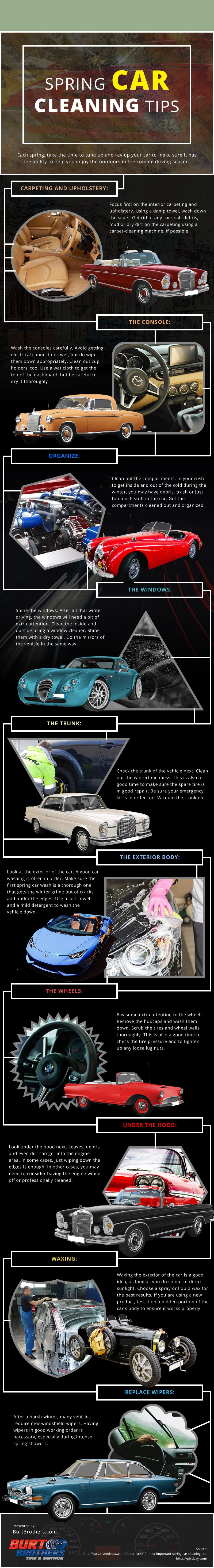 Spring Car Cleaning Tips [infographic]