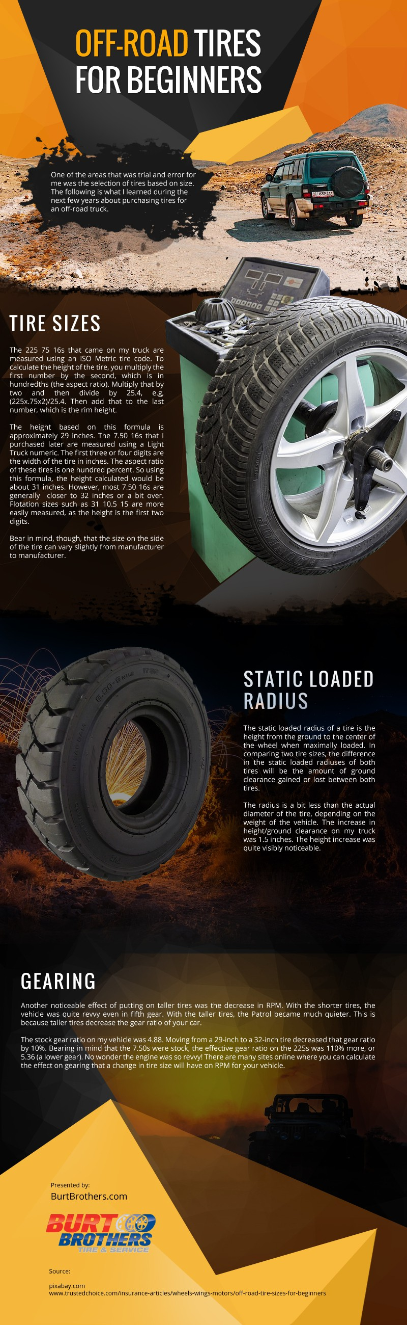 Off-Road Tires for Beginners [infographic]