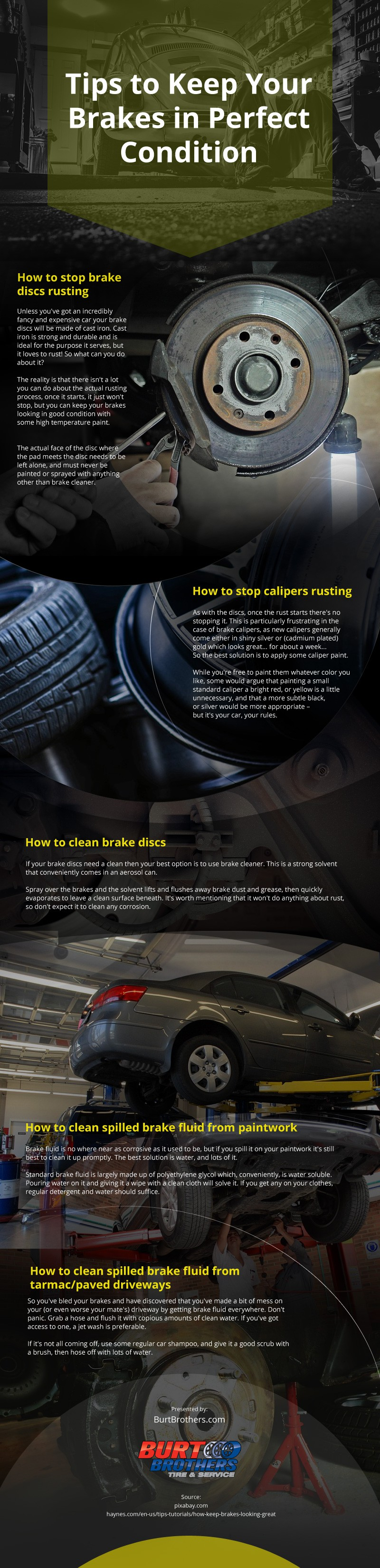 Tips to Keep Your Brakes in Perfect Condition [infographic]