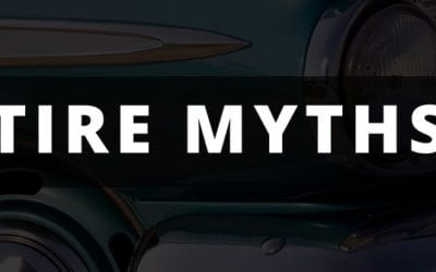 Tire Myths [infographic]