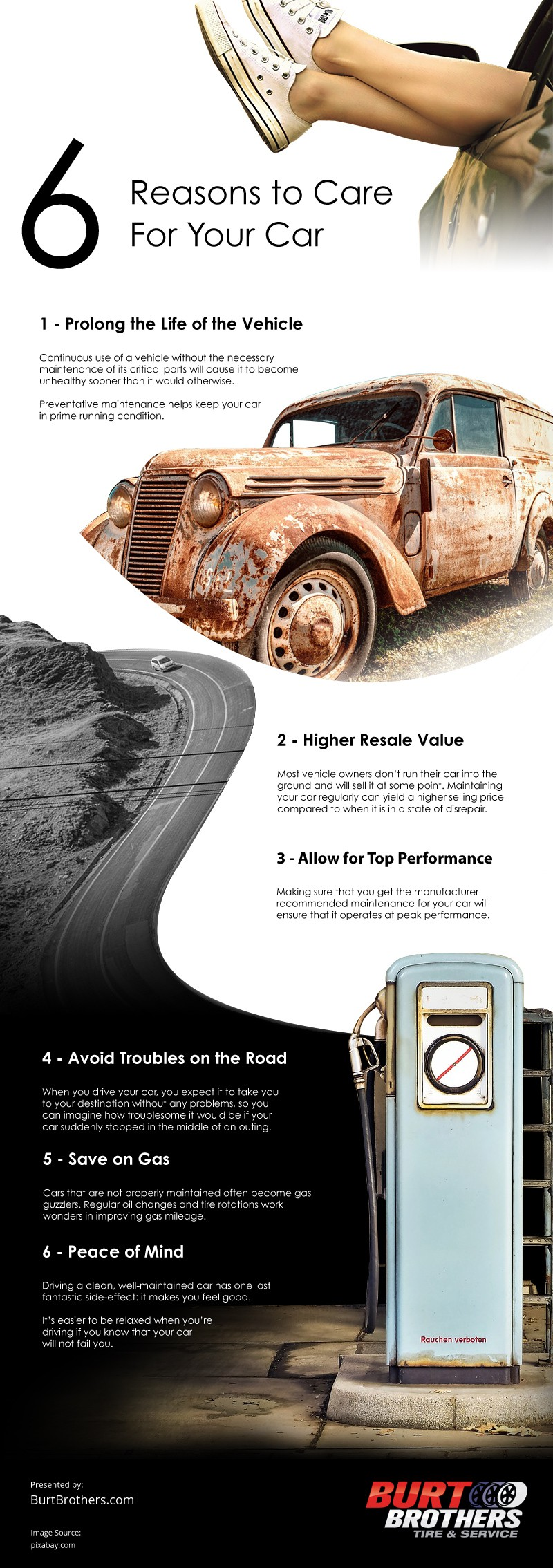 6 Reasons to Care for Your Car [infographic]