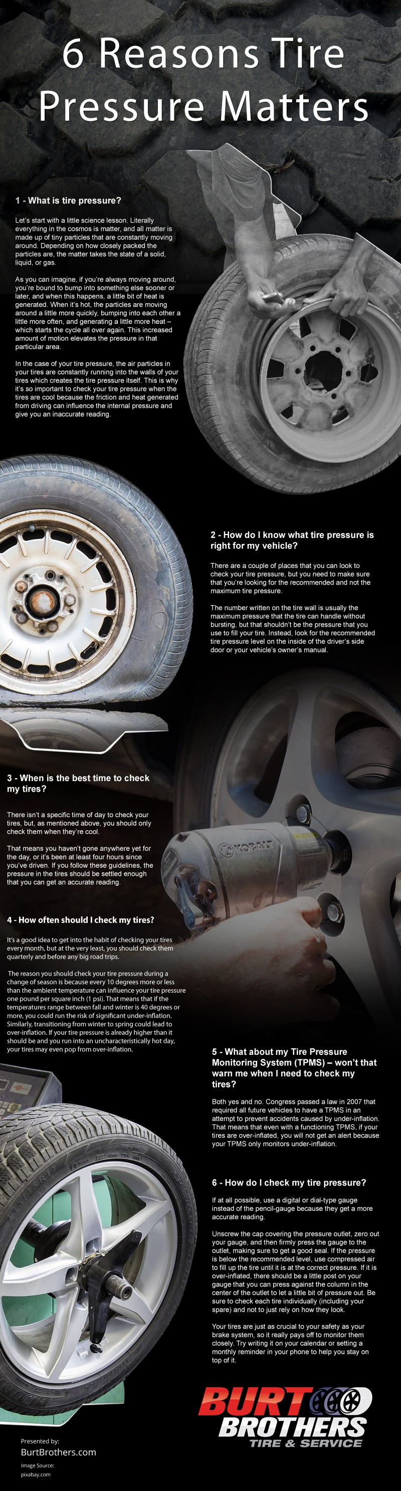 6 Reasons Tire Pressure Matters [infographic]