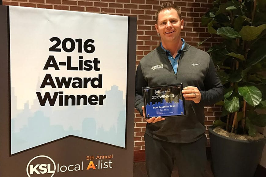 2016 KSL A-List Award Winner!