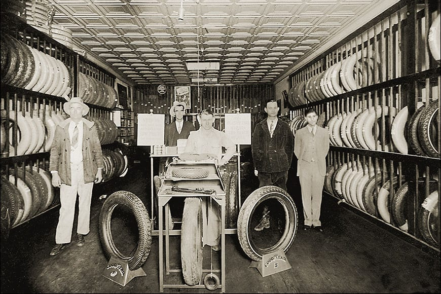 A Brief History of the Tire