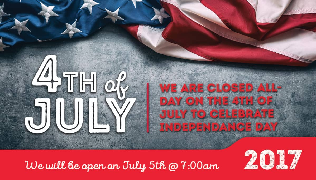 July 4th auto repair shop hours