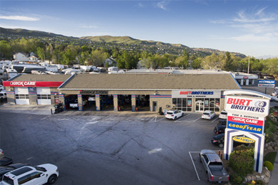 Bountiful tire store & auto repair shop in Utah