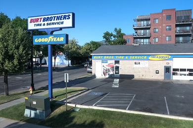 Sugar House tire store & auto repair shop in Utah