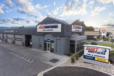 West Jordan tire store & auto repair shop in Utah