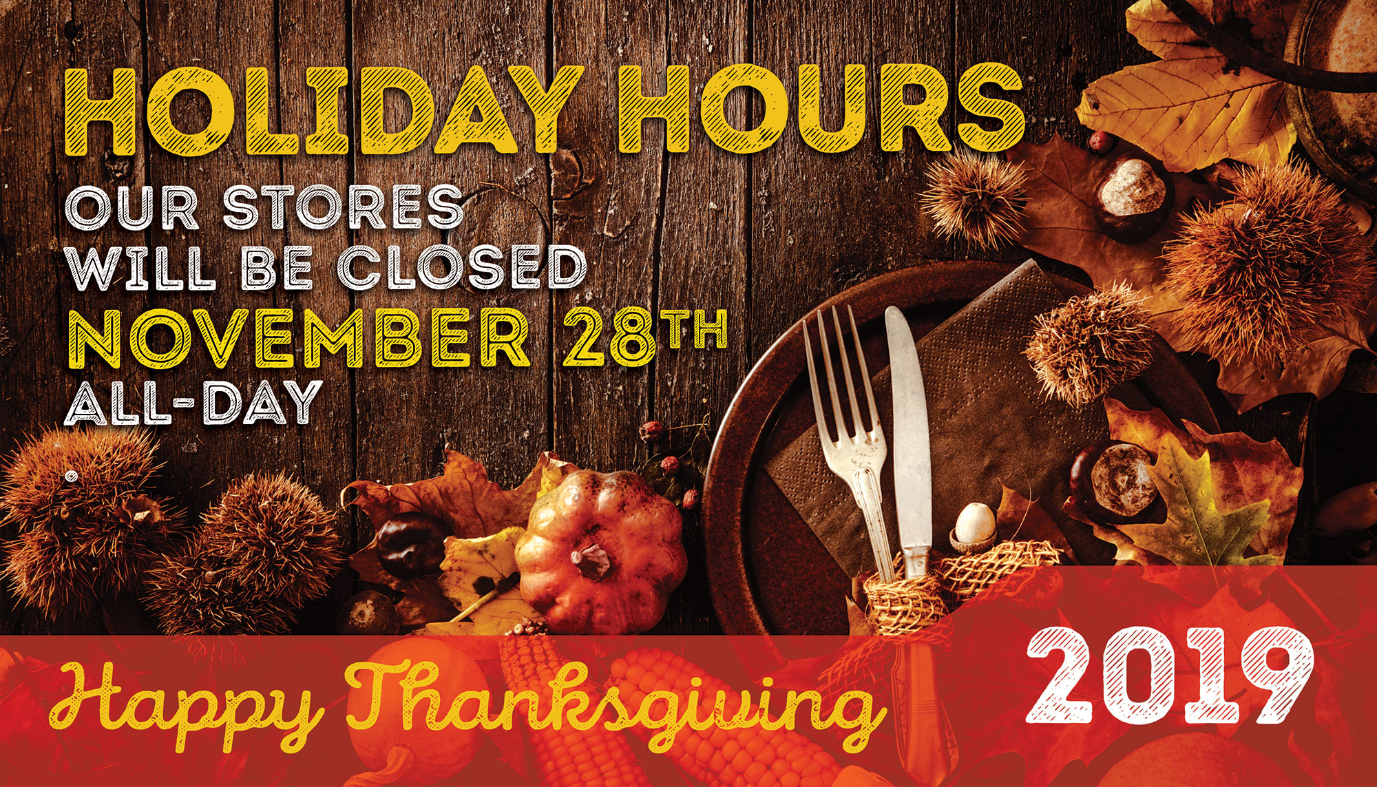 Thanksgiving auto repair shop hours