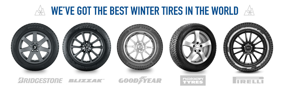 We got the best winter tires